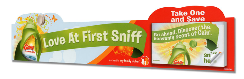 Point of Sale Scratch n Sniff