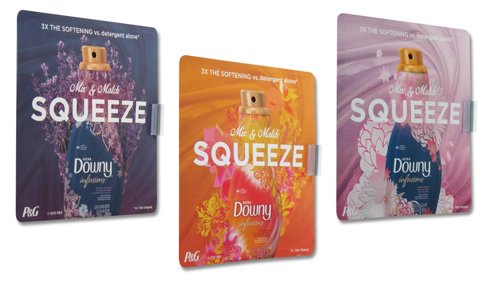 P&G Downy Infusions Mix & Match Shopping Scenters